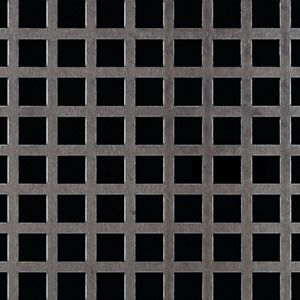 """12/"""" X 12/"""" 0598 1//4/"""" HOLES--16 GA.- -304 STAINLESS PERFORATED SHEET"""