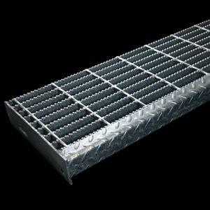 Aluminum 36 X 1.5 72 Span Serrated Bar Grating
