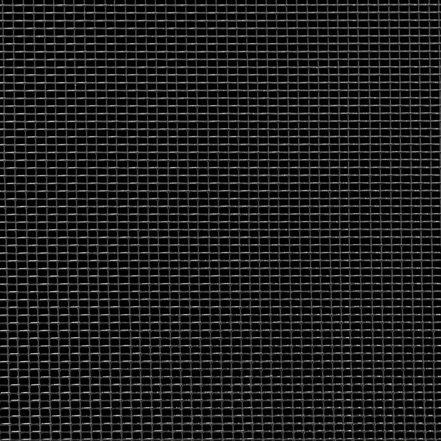 "McNICHOLS® Wire Mesh Rectangular, Carbon Steel, Epoxy Coated, Woven - Plain Weave, 18 x 14 Mesh (Rectangular), 0.0466"" x 0.0624"" Opening (Rectangular), 0.009"" Thick (36 Gauge) Wire Diameter, 72% Open Area"