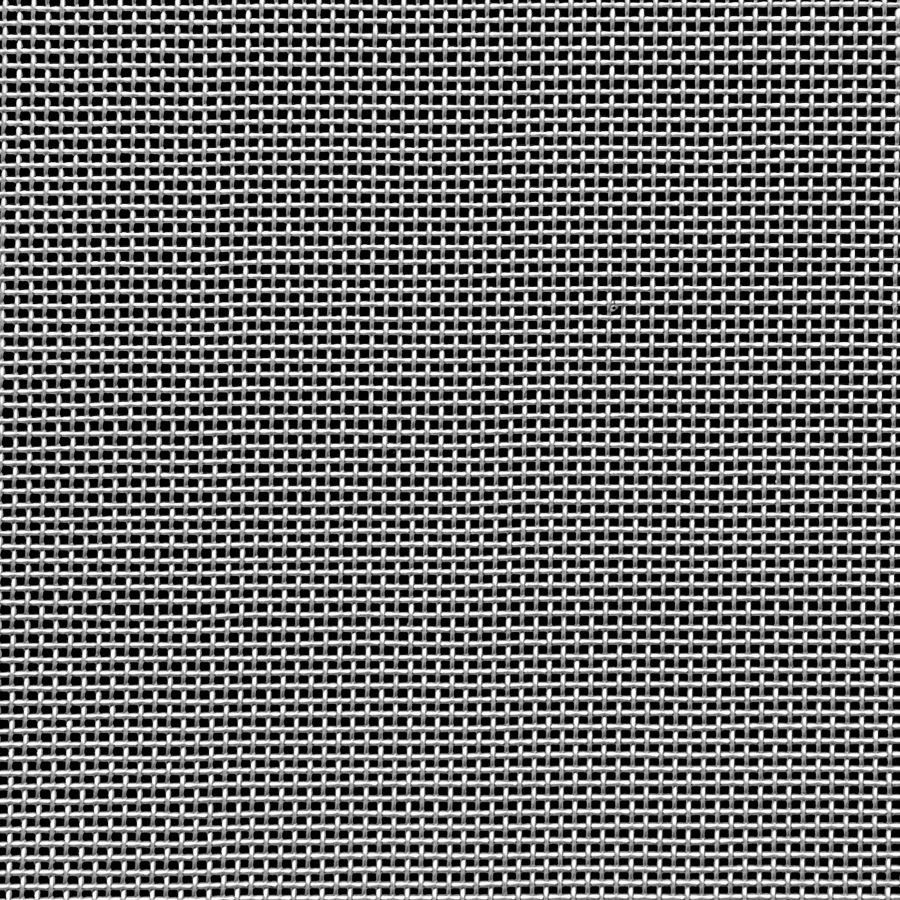 "McNICHOLS® Wire Mesh Square, Stainless Steel, Type 316, Woven - Plain Weave, 20 x 20 Mesh (Square), 0.0340"" x 0.0340"" Opening (Square), 0.016"" Thick (28-1/4 Gauge) Wire Diameter, 46% Open Area"