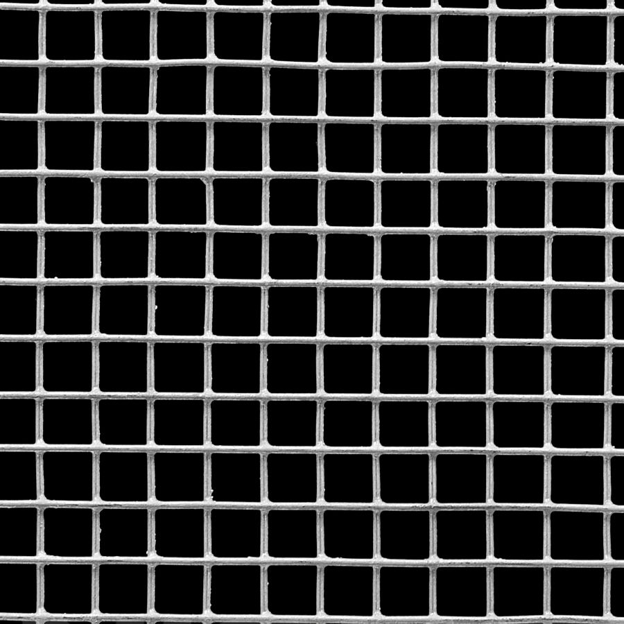 "McNICHOLS® Wire Mesh Square, HARDWARE & INDUSTRIAL CLOTH, Galvanized, Hot Dipped, Welded - Trimmed, 2 x 2 Mesh (Square), 0.4370"" x 0.4370"" Opening (Square), 0.063"" Thick (16 Gauge) Wire Diameter, 76% Open Area"