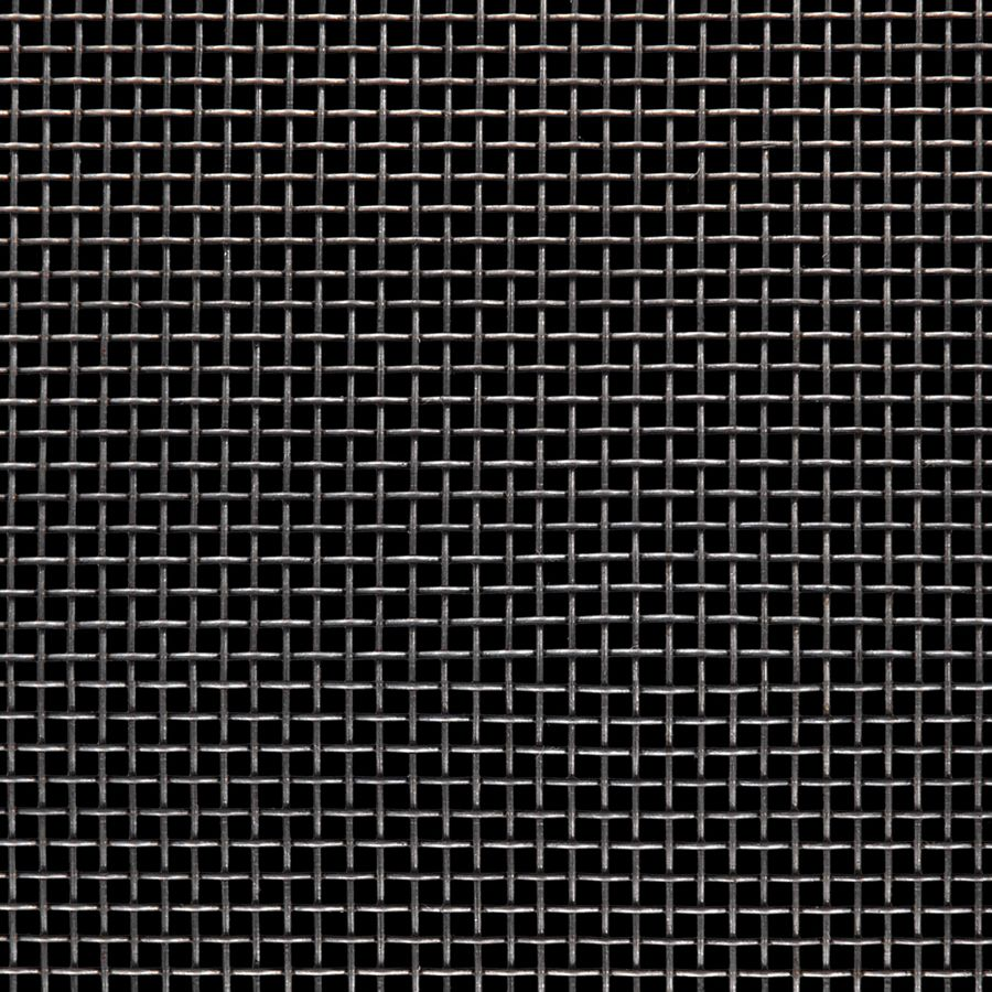 "McNICHOLS® Wire Mesh Square, Carbon Steel, Cold Rolled, Woven - Plain Weave, 8 x 8 Mesh (Square), 0.0930"" x 0.0930"" Opening (Square), 0.032"" Thick (21 Gauge) Wire Diameter, 55% Open Area"