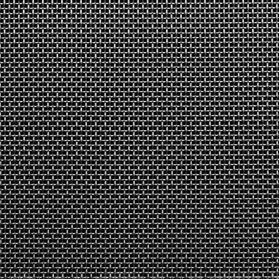 "McNICHOLS® Wire Mesh Square, Carbon Steel, Cold Rolled, Woven - Plain Weave, 10 x 10 Mesh (Square), 0.0750"" x 0.0750"" Opening (Square), 0.025"" Thick (23-1/4 Gauge) Wire Diameter, 56% Open Area"