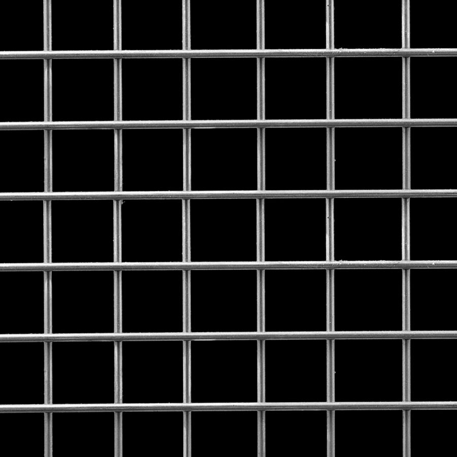 "McNICHOLS® Wire Mesh Square, Stainless Steel, Type 304, Welded - Trimmed, 1 x 1 Mesh (Square), 0.8800"" x 0.8800"" Opening (Square), 0.120"" Thick (11 Gauge) Wire Diameter, 77% Open Area"