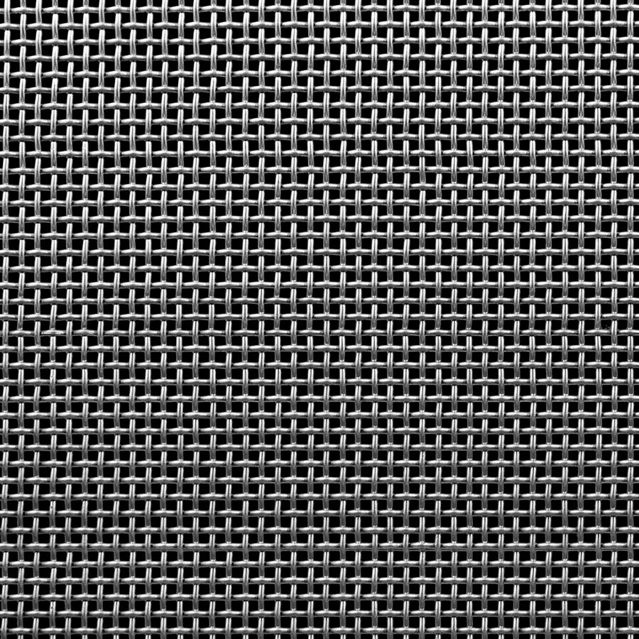"McNICHOLS® Wire Mesh Square, Stainless Steel, Type 304, Woven - Plain Weave, 6 x 6 Mesh (Square), 0.1037"" x 0.1037"" Opening (Square), 0.063"" Thick (16 Gauge) Wire Diameter, 39% Open Area"