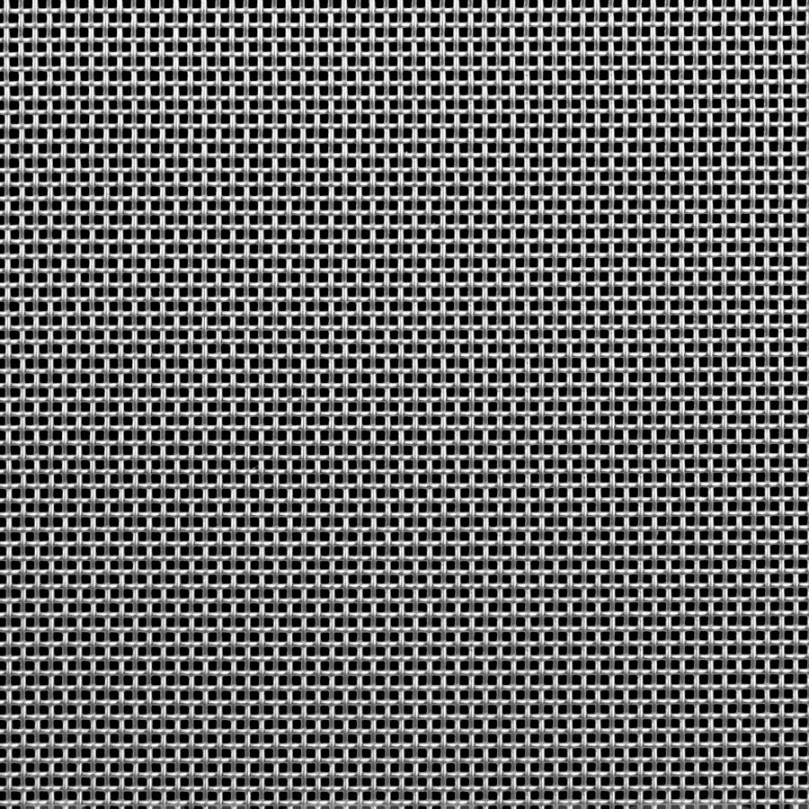 "McNICHOLS® Wire Mesh Square, Stainless Steel, Type 304, Woven - Plain Weave, 10 x 10 Mesh (Square), 0.0650"" x 0.0650"" Opening (Square), 0.035"" Thick (20 Gauge) Wire Diameter, 42% Open Area"