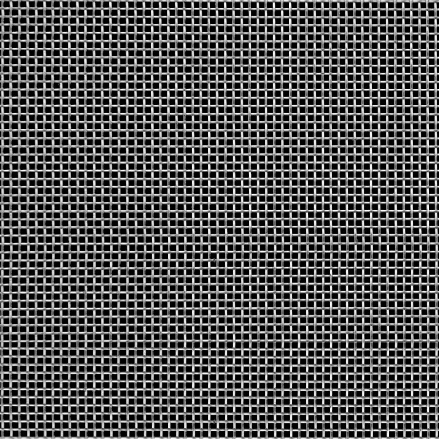 "McNICHOLS® Wire Mesh Square, Stainless Steel, Type 304, Woven - Plain Weave, 14 x 14 Mesh (Square), 0.0514"" x 0.0514"" Opening (Square), 0.020"" Thick (25-1/4 Gauge) Wire Diameter, 51% Open Area"