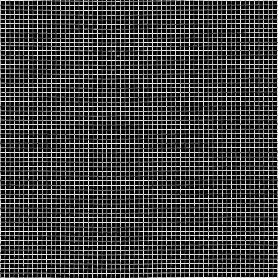 "McNICHOLS® Wire Mesh Square, Stainless Steel, Type 304, Woven - Plain Weave, 16 x 16 Mesh (Square), 0.0535"" x 0.0535"" Opening (Square), 0.009"" Thick (36 Gauge) Wire Diameter, 72% Open Area"