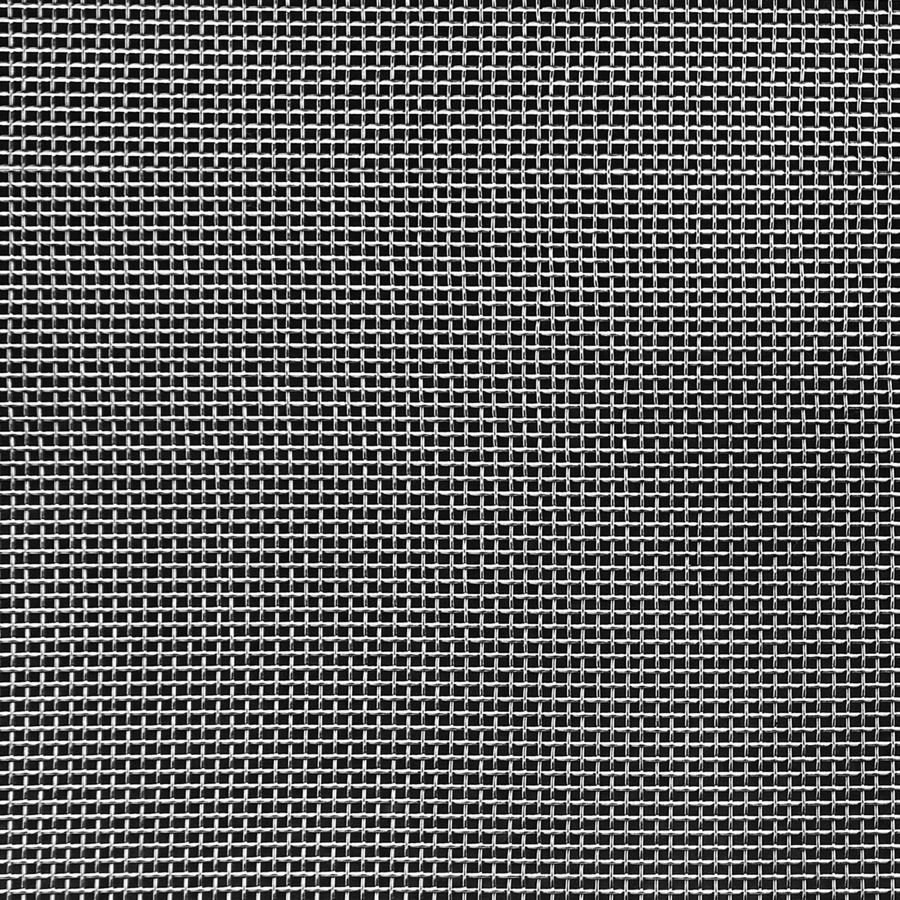 "McNICHOLS® Wire Mesh Square, Stainless Steel, Type 304, Woven - Plain Weave, 16 x 16 Mesh (Square), 0.0445"" x 0.0445"" Opening (Square), 0.018"" Thick (26-1/4 Gauge) Wire Diameter, 51% Open Area"