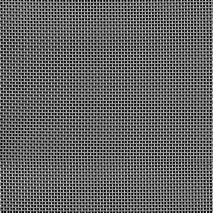 """McNICHOLS® Wire Mesh Square, Stainless Steel, Type 304, Woven - Plain Weave, 18 x 18 Mesh (Square), 0.0386"""" x 0.0386"""" Opening (Square), 0.017"""" Thick Wire Diameter, 48% Open Area"""