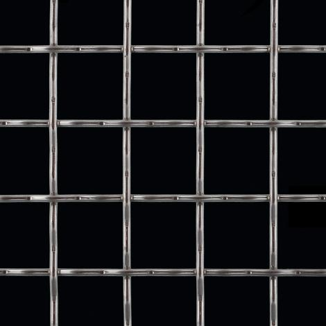 Square - Wire Mesh - Stainless Steel - 38922200 | McNICHOLS
