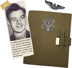 McNICHOLS Badge and Diary