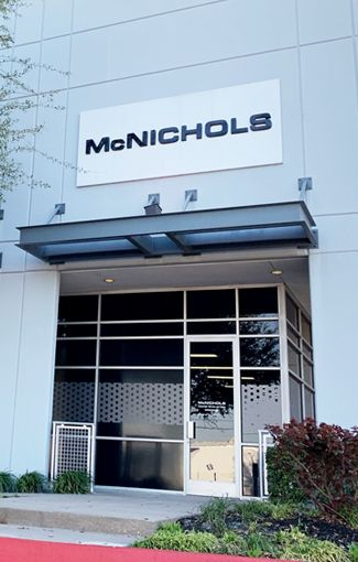 McNICHOLS Dallas Metals Service Center