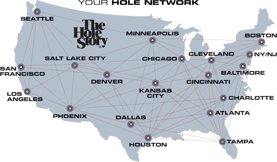 hole Network Map