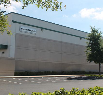 McNICHOLS Tampa Metals Service Center